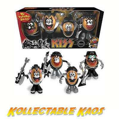 Mr Potato Head - Kiss 4-Pack