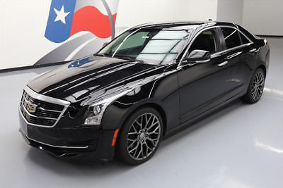 2015 Cadillac ATS Luxury Sedan 4-Door 2015 CADILLAC ATS 2.0T LUX LEATHER REAR CAM BOSE 33K MI #106632 Texas Direct