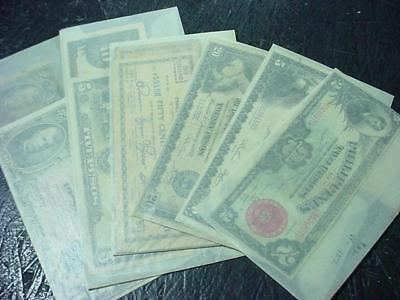 NobleSpirit NO RESERVE {RC-22} Philippines Bank Note Assortment w/ some w/ WWII
