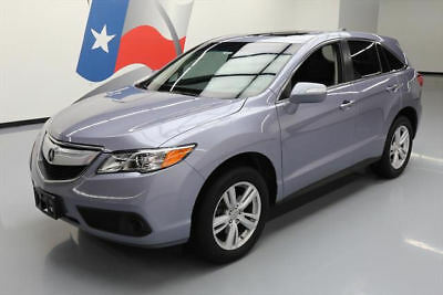 2015 Acura RDX Base Sport Utility 4-Door 2015 ACURA RDX SUNROOF REAR CAM HTD LEATHER ALLOYS 21K #014879 Texas Direct Auto