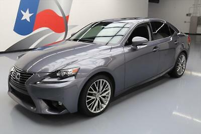 2015 Lexus IS  2015 LEXUS IS250 PREM CLIMATE SEATS SUNROOF NAV 24K MI #081937 Texas Direct Auto