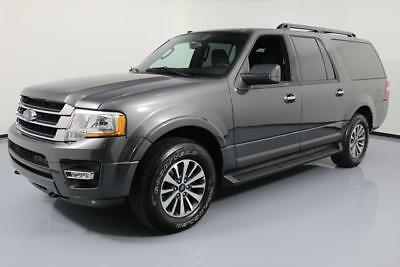 2017 Ford Expedition EL King Ranch Sport Utility 4-Door 2017 FORD EXPEDITION EL 4X4 ECOBOOST SUNROOF 8-PASS 37K #A26628 Texas Direct