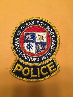Town Of Ocean City Maryland  Shoulder  Patch