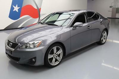 2013 Lexus IS Base Sedan 4-Door 2013 LEXUS IS250 PADDLE SHIFT SUNROOF SPOILER 54K MILES #193090 Texas Direct