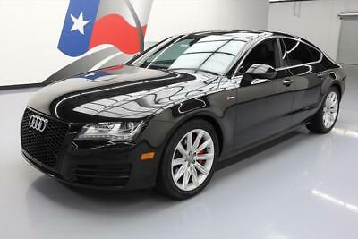 2013 Audi A7  2013 AUDI A7 3.0T QUATTRO PREM PLUS AWD SUNROOF NAV 54K #063799 Texas Direct