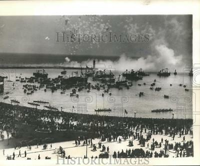 1940 Press Photo Seaport City Of Bari Italy Has Been Declared A Prohibited Zone