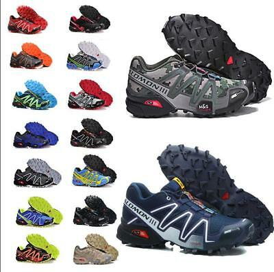 Mens Salomon Speedcross 3 Athletic Running Sports Outdoor Hiking Shoes Sneakers