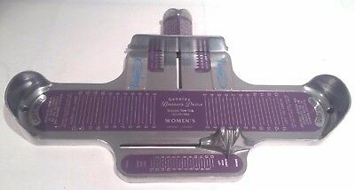 Vintage The Brannock Device Woman's Foot Shoe Size Measuring Device Syracuse, NY