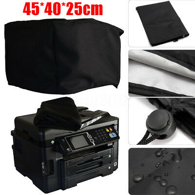 18X16x10'' Black Printer Dust Cover Waterproof for Epson Workforce WF-3640