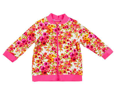 Cupid Girl Baby/Toddler Romance UPF50+ Long Sleeve Zipper Rash Vest - Pink