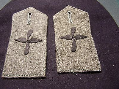 One Original Pair Pre Wwii  German Aviation Shoulder Boards