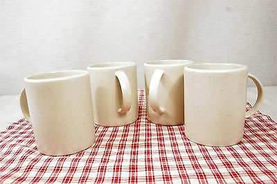 LOT of 4 Calvin Klein Khaki Collection Cargo Cream Coffee Mugs MINT!