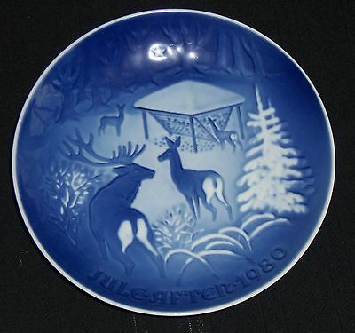 1980 Bing & Grondahl: Christmas in the Woods Plate