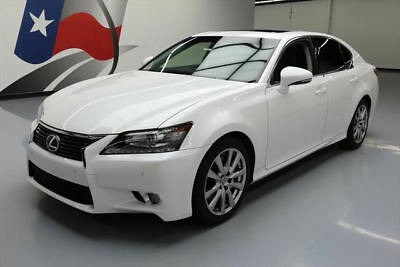 2014 Lexus GS Base Sedan 4-Door 2014 LEXUS GS350 PREM CLIMATE SEATS SUNROOF NAV 45K MI #042141 Texas Direct Auto