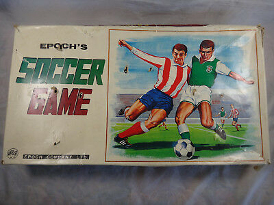 Vintage Epoch's Soccer Game ~ Made in Japan Ca 1970s