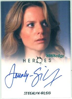Heroes Archives Autograph Auto-Jessalyn Gilsig/meredith