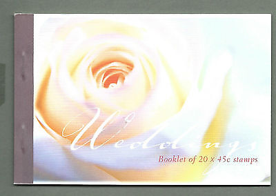 AUSTRALIA 2002 Prestige Booklet - Special Occasions WEDDINGS Complete MNH