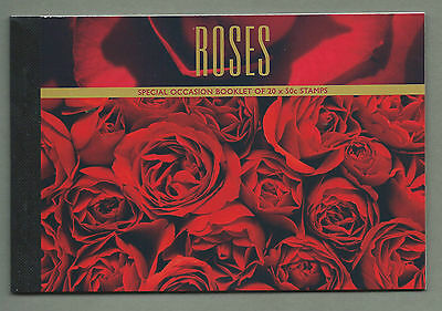 AUSTRALIA 2005 Prestige Booklet - Special Occasions - ROSES - Complete - MNH
