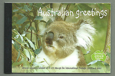 AUSTRALIA 2003 Prestige Booklet - Special Occasions GREETINGS Complete MNH