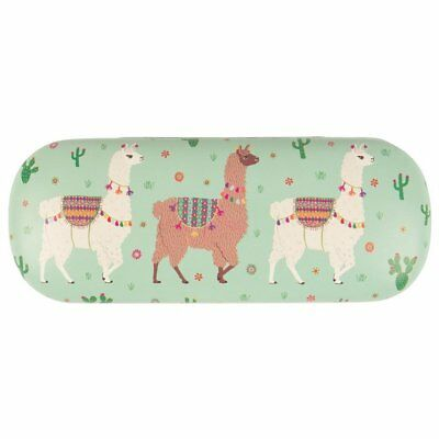 Sass & Belle Glasses case - Llama Floral design Hard storage sunglasses/reading