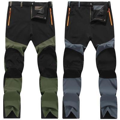 herren outdoor hosen softshellhose wanderhose wasserdicht sport trekking camping eur 21 59. Black Bedroom Furniture Sets. Home Design Ideas