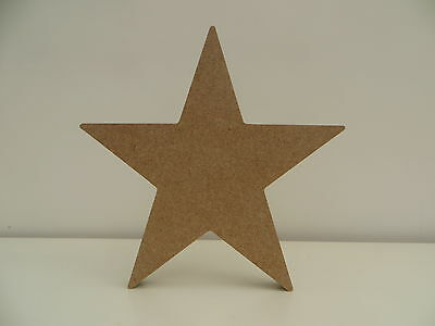 Free standing Star large wooden MDF shape