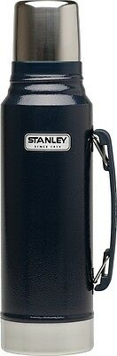 Stanley Classic Vacuum Bottle Stainless Steel Thermos, 1 L, Navy