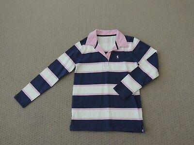 Girls 'thomas Cook' Rugby Jumper Sz 12