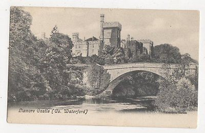 Lismore Castle Co Waterford Ireland 1910 Postcard 324a