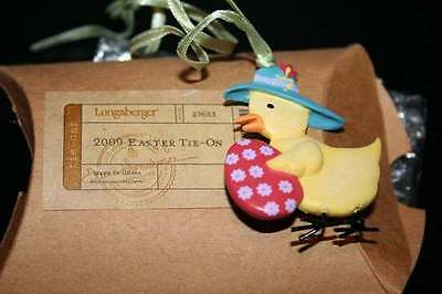 Longaberger - 2009 Easter Tie-on #23683- NEW