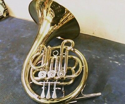Used Rosetti Series 5 Kinder- small size- Bb  French Horn outfit