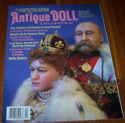 Antique Doll Collector February 2016 - As New