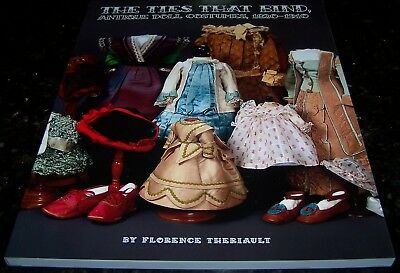 The Ties That Bind - Doll Costumes And Accessories 1820-1910 - New