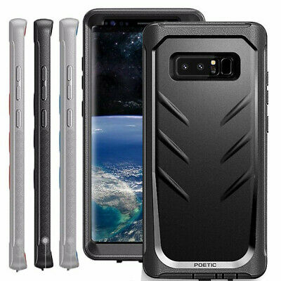 Poetic For Galaxy Note 8 Shockproof Case with Built-in-Screen Protector 3 Color