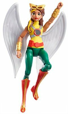 "DC Super Hero Girls Hawkgirl Figure, 6"" New"