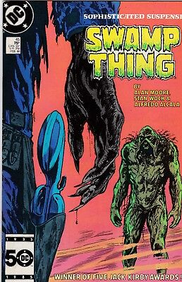 Swamp Thing #45 Alan Moore Story FN+ 6.5 1986 DC See My Store