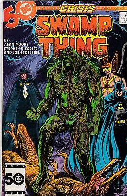 Swamp Thing #46 Alan Moore Story VF 8.0 1986 DC See My Store