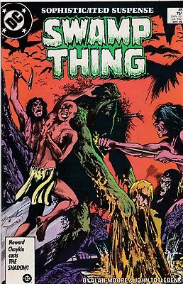 Swamp Thing #48 Alan Moore Story NM 9.4 1986 DC See My Store
