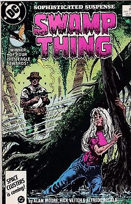 Swamp Thing #54 Alan Moore Story VF/NM 9.0 1986 DC See My Store