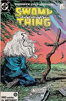 Swamp Thing #55 Alan Moore Story VF 8.0 1986 DC See My Store