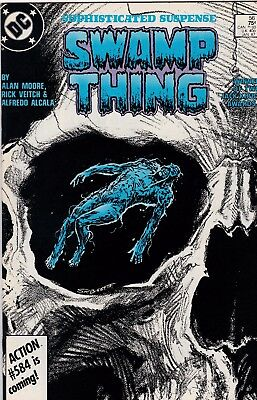 Swamp Thing #56 Alan Moore Story NM- 9.2 1987 DC See My Store