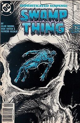 Swamp Thing #56 Alan Moore Story FN+ 6.5 1987 DC See My Store