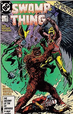 Swamp Thing #58 Alan Moore Story NM 9.4 1987 DC See My Store
