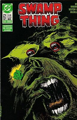 Swamp Thing #61 Alan Moore Story VF+ 8.5 1987 DC See My Store