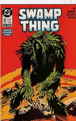 Swamp Thing #63 Alan Moore Story NM+ 9.6 1987 DC See My Store