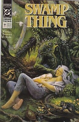 Swamp Thing #91 NM 9.4 1990 DC See My Store