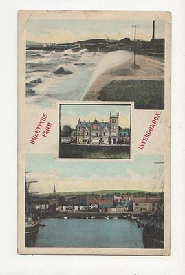 Greetings From Invergordon 1907 Postcard  221a