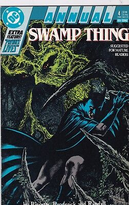 Swamp Thing Annual #4 Batman VF+ 8.5 1988 DC See My Store