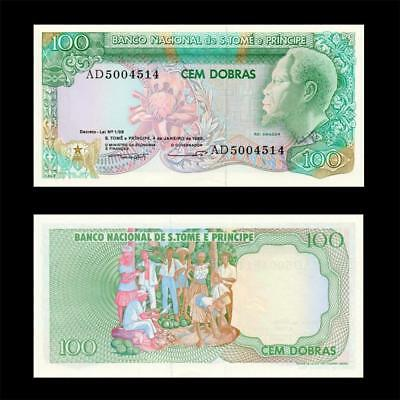 1989 Portuguese Saint Thomas, 100 Dobras - »Best Note «