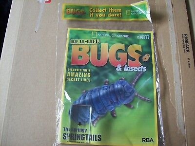 National Geographic Real-life Bugs & Insects magazine Issue 55
